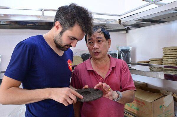 sản xuất bánh trà Shan